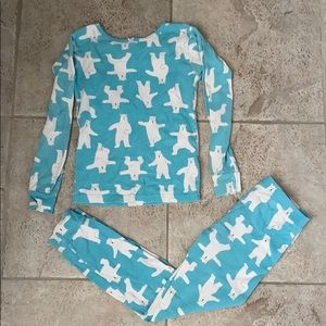 EUC Carter's Polar Bear Pajama Set